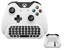 Wireless Keyboard ChatPad for Microsoft Xbox One S Keyboard White with USB Recei