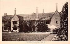 POSTCARD    DORSET   PURSE  CAUNDLE   Manor     RP