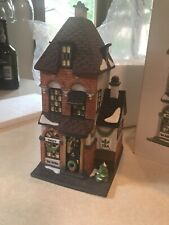 """New ListingDept 56 - Heritage Village - Christmas in the City- 'Potters Tea Seller"""" #5880-7"""