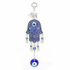 New Turkish Blue Evil Eye Hand Elephant Amulet Wall Hanging Lucky Car Home Decor