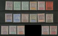 British Guiana  1889-1903  Scott # 130-147  MLH - MH  Part Set