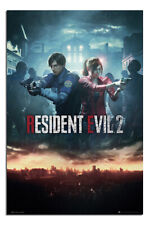 Resident Evil 2 Poster City Official Gaming New Maxi Size
