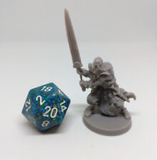Barbarian Viking Norseman  w/2 handed sword Miniature for DND and Pathfinder