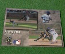 Sammy sosa 1998 last season of the millennium 60th homerun