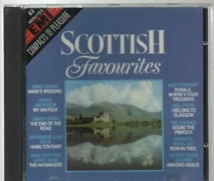 Scottish Favourites 19 Track CD Album Collection Scotland Jimmy Shand Corries