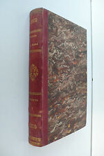 HISTOIRE DE FRANCE  par ANQUETIL 1855  TOME 1  ETAT CORRECT ROUSSEURS