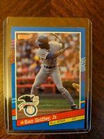 1991 Donruss Ken Griffey JR All-Star Baseball Card (Error INC No Dot)