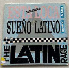 The Latin Rage - Esta Loca / Sueño Latino (Remix) 3trk CD 1989