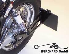 Seitlicher Kennzeichenhalter schwarz Yamaha XV Virago TÜV