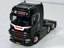 "SCANIA S HIGHLINE CS20H 6x2 TAG AXLE  ""JASPER PELLEGROM"",WSI TRUCK MODELS"