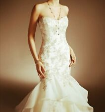 Maggie Sottero MAKY Wedding Dress Size 8-10 with veil and hooped underskirt