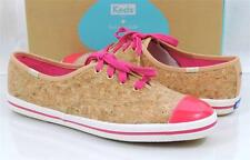 Women's Keds for Kate Spade CORKIE Fashion Sneakers Natural Cork / Pink Size 9.5