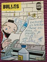 """Chaland: Rare Carte postale """"Le Jeune Albert"""" -  Bulles Dingues 1991 non signée"""