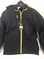 Mens Soul Star Jacket Raincoat Windcheater Zip Up SONIC  X large 10646307