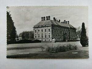 Kinross Scotland Vintage B&W Postcard 1961 Kinross House