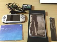 PSP 2000 Crisis Core Final Fantasy 7 Limited Silver Console rare from japan F/S