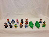 Duplo Lego Genuine Figures 2010 Toy Story/ Pirates/Batman/Workers/crocs/Vintage
