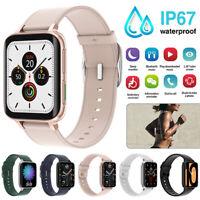 Bluetooth Waterproof Smart Watch Heart Rate ECG Blood Pressure Monitor Bracelet