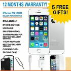 Apple iPhone 5s - 16 GB - White / Silver (Unlocked) - Grade A Bundle
