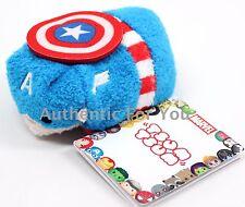 NEW Authentic US Disney Marvel CAPTAIN AMERICA Mini Tsum Tsum Plush - Avengers