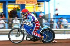 More details for reading racers speedway motorcycle action smallmead stadium photograph picture