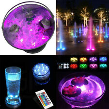 10LED Remote Control RGBColor Changing LED Lights Home Remote Control Spotlights