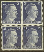 Stamp Germany Mi 793 Sc 518 Block 1941 WW2 Fascism Adolf Hitler MNH