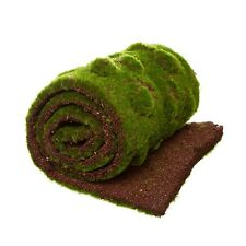 Moss Mat Artificial Grass Roll Flat Fake Grass Gardens New (15cm x 80cm )