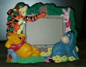 DISNEY Winnie The Pooh Tigger Picture Frame 3X3 Photo Tigger Piglet Eeyore Honey