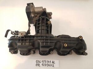 Ansaugkrümmer 03L129711AL 03L128063Q Ansaugbrücke VW Passat Variant 365 Seat..