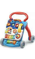 VTech Sit-To-Stand Learning Walker Frustration Free Packaging Blue FAST SHIPPING