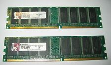 Kingston KTH-D530/512  - 1GB ( 2x 512MB ) DDR PC3200 400MHz DIMM 184-pin Memory
