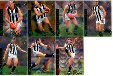 96 Select AFL Classic Metal Base Team Set: Collingwood (7)