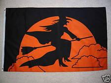 3' X 5' HALLOWEEN WITCH  FLAG 3 X 5