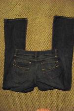 womens gap curvy low rise dark wash denim jeans size 6 reg 29 x 32