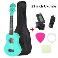 """21"""" Economic Soprano Ukulele Uke Start Pack 12 Fret With Gig bag, Tuner 8"""