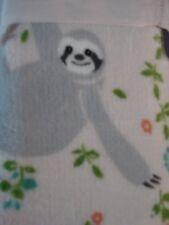 "Berkshire TWIN Plush Blanket 60"" x 90"" Sloth"