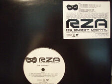 "RZA / BOBBY DIGITAL + METHOD MAN - THE RHUMBA / SHOW U LOVE (12"") 2001!!  RARE!!"
