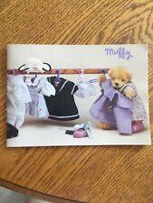 Muffy Vanderbear Catalog 1990 ~ Vintage