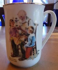 Norman Rockwell Museum The Toymaker Ceramic Mug 1982