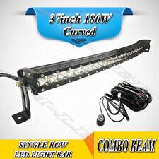 37''inch 180W 22000lm Car LED Work Light Bar Combo Beam Truck ATV SUV 4WD 9-32V