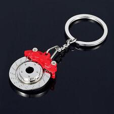 Rojo Freno de Disco Pinza de Rotor, Aleación de Metal, llavero