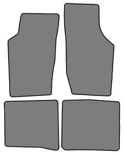 1979-1994 Saab 900 - 4 pc Custom-Fit Carpet Floor Mats-Black
