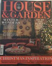 House & Garden Dec 2017 Winter Wonders, Stuff The Turkey FREE SHIPPING mc