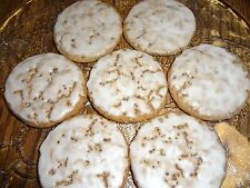 CLASSIC HOMEMADE OLD FASHIONED ICED OATMEAL COOKIES (30 COOKIES)