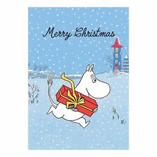 Moomin Moomintroll Gift Present Snow Blank Christmas Card - FREE 1ST CLASS POST