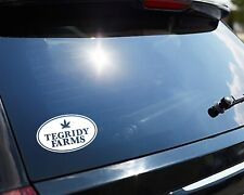 """Tegridy Farms Sticker South Park 4.5"""" wide Easy Apply Decal (NOT CANNABIS)"""