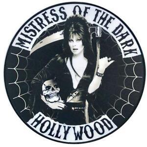 Kreepsville 666 Elvira Mistress De Le Foncé Rockers Gothique XL Patch à Repasser
