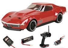 Vaterra 1/10 1969 Custom Corvette Stingray RTR, V100-S w/ DX2E/Battery/Charger