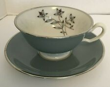 Lenox Cup & Saucer Set Kingsley X-445 Beautiful Mint